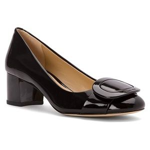 Michael Kors Pauline Black Patent Pump NEW IN BOX